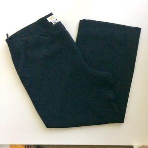 Talbot Black Lined Woman's Dress Pants Size 20W